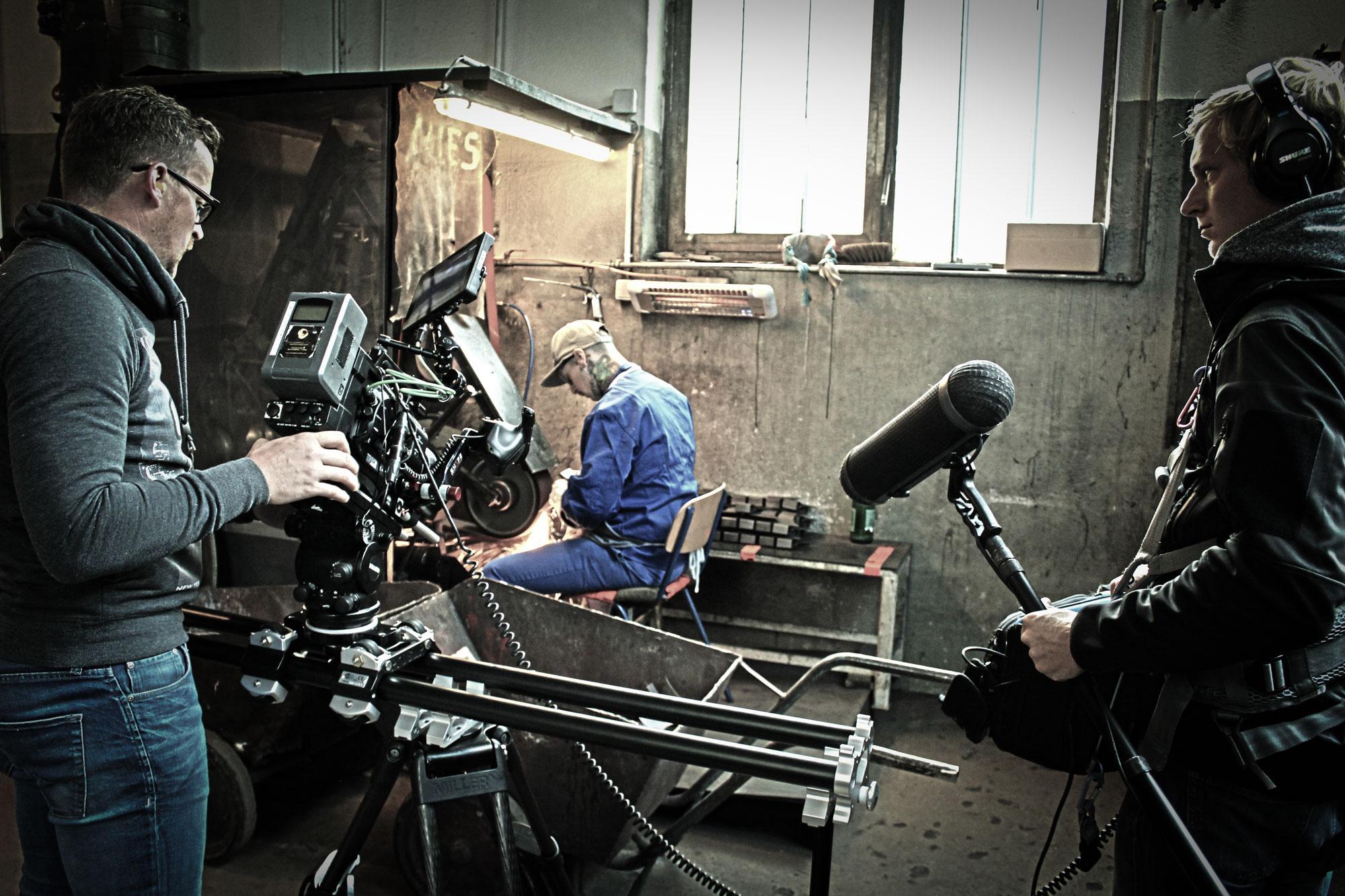 Five Elements Films beim filmen